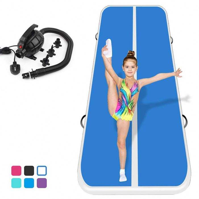 New Arrival and safe inflatable air track tumbling floor gymnastics practice training pad gym mat