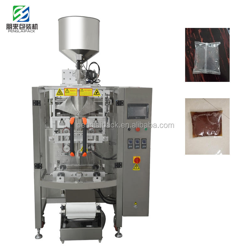 Automatic Large Volume Liquid Sauce/Paste/Katchup Packing Machine