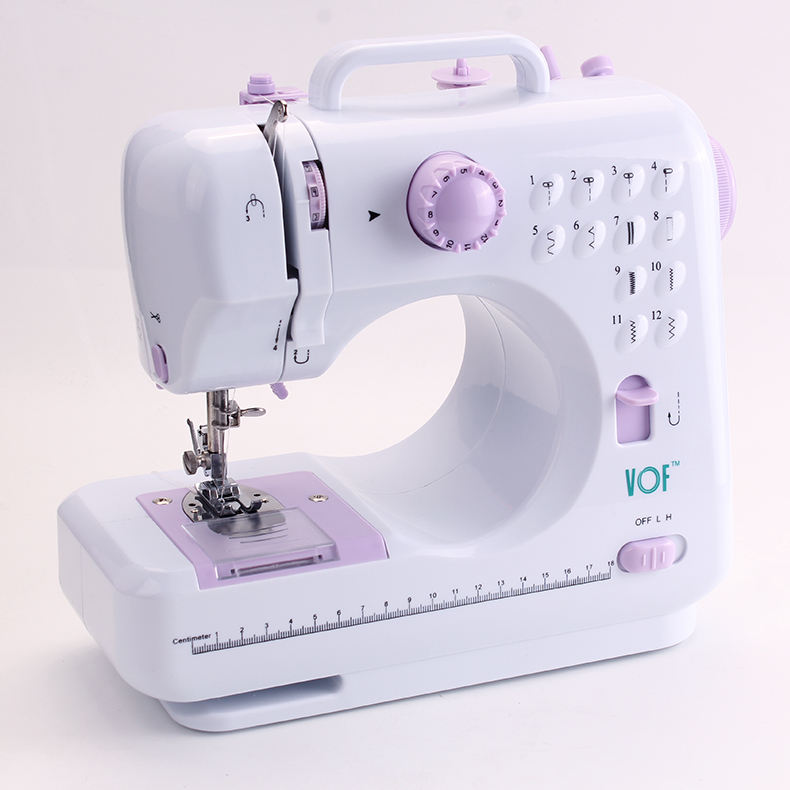 Automatic Hemming Machine Pink Electric Sewing Machine For Sewing Cloth CE/ROHS FHSM-505