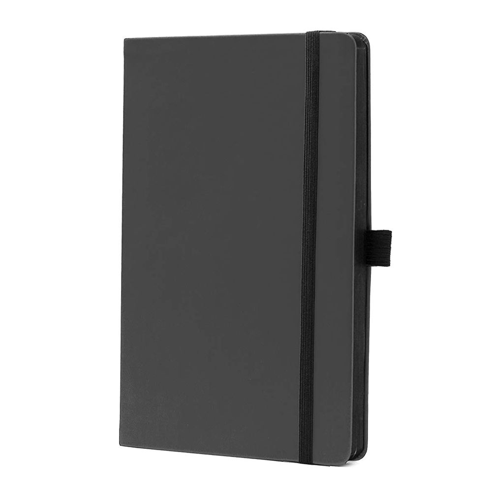 Wholesale A4 A5 A6 Hardcover Black Leather Journal Notebooks With Pen Holder