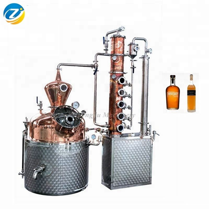 distillation towers gin machine brandy distillery equipment