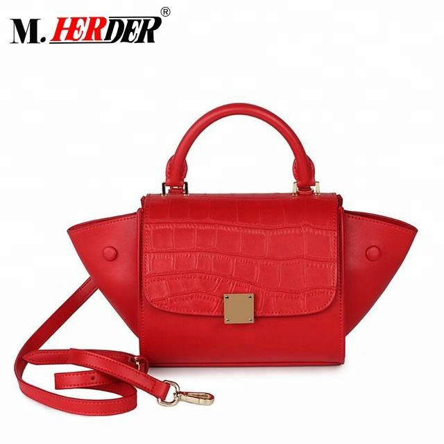 Small Wholesale China Cow Leather Large Fringe Lady Handbag, Fashion Bag