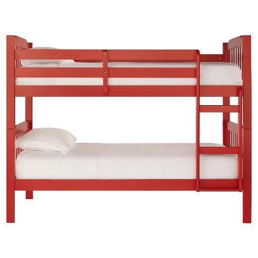 Low Price Pine Wood Red Military Queen Size Bunk Bed Hotel Children Bunk Bed