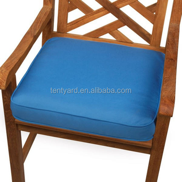 square outdoor garden wooden water proof Chair foam seat Cushion