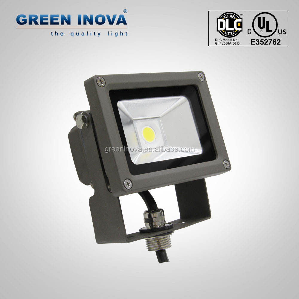 Bronze 5 years warranty cULs led solar powered flood lights