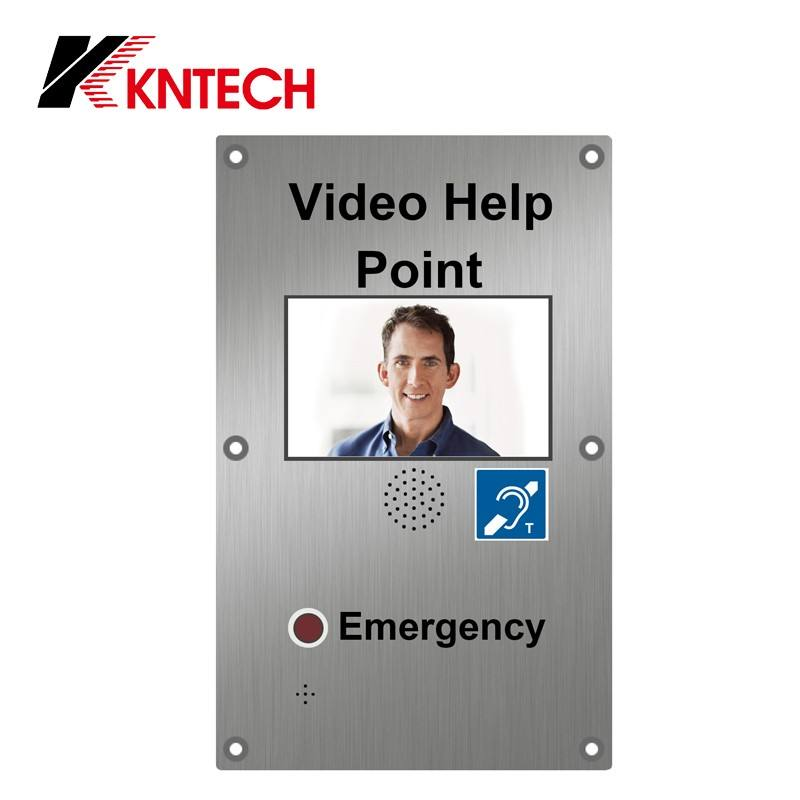 KNTECH Telefono VoIP con Built-In TFT LCD e Fotocamera Commax Intercom Video Telefono Del Portello KNZD-60