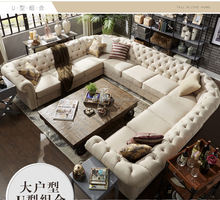 NS18 sofa chesterfield chesterfield section sofa U shape sofa