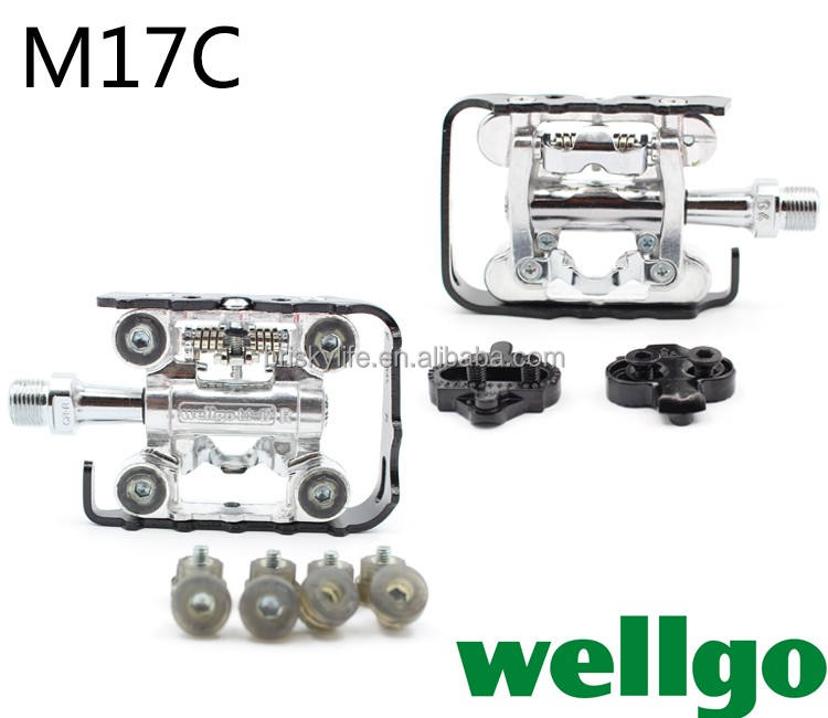 Wellgo pedals highend wellgo bicycle pedals with lock pedal