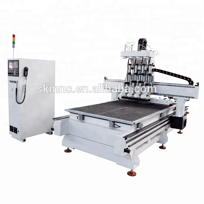 SKMNC 4axis wood cnc used mini cnc router with HSD spindle 1325