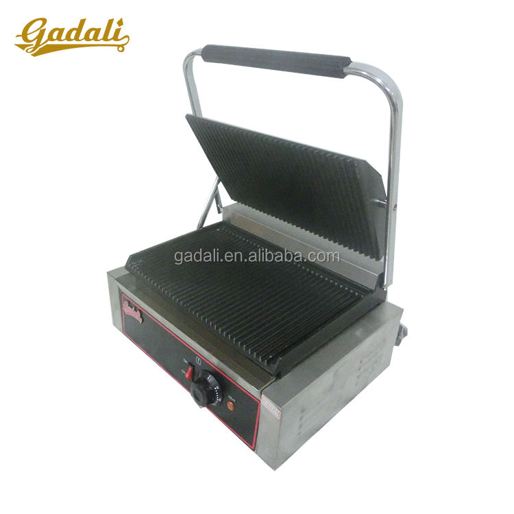 New arrival best commercial indoor grill panini sandwich press