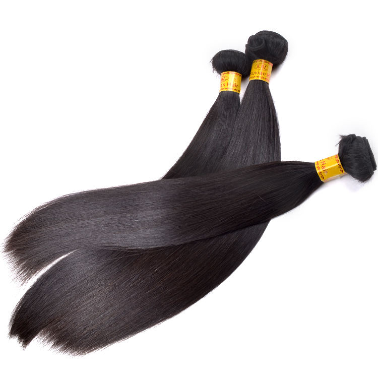 wholesale top quality double drawn remy peruvian hair weave