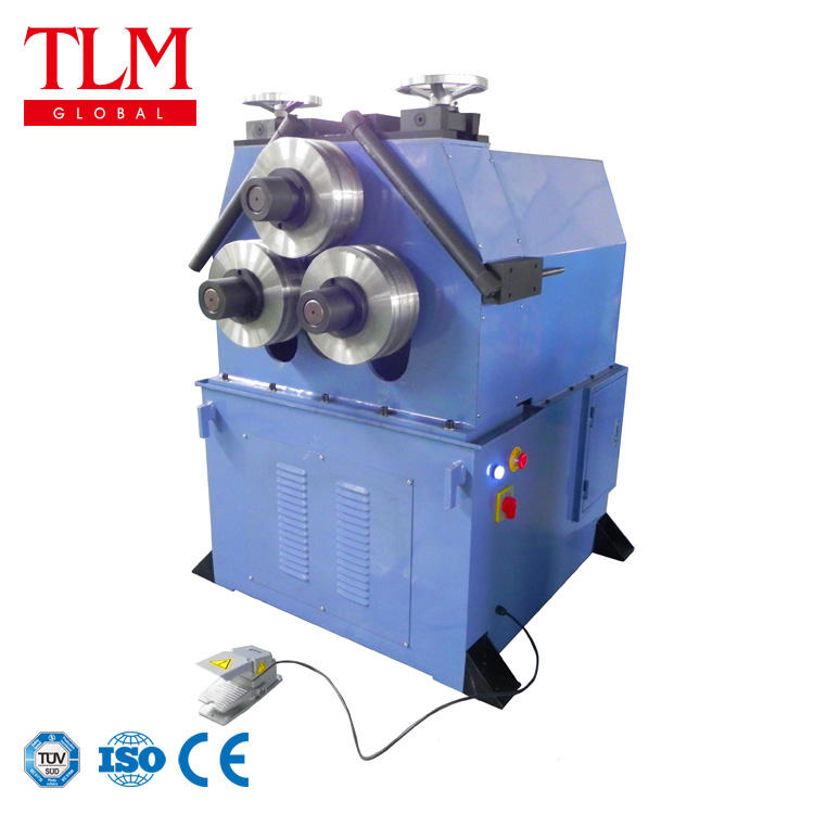 Hydraulic vertical 3 roller or 7 roller copper tube coil bending machine, copper pipe coil making machine