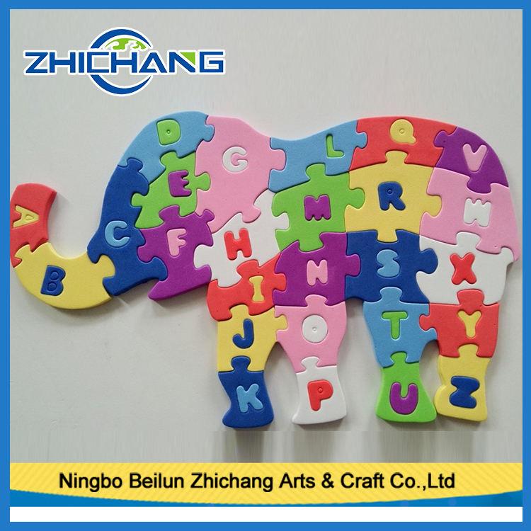 2017 schiuma <span class=keywords><strong>EVA</strong></span> animale alfabeto puzzle giochi per bambini