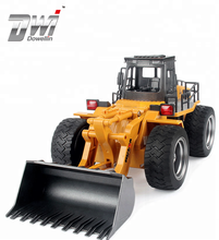 DWI Dowellin alloy truck 6 channel rc bulldozer 1520 huina toys with low price