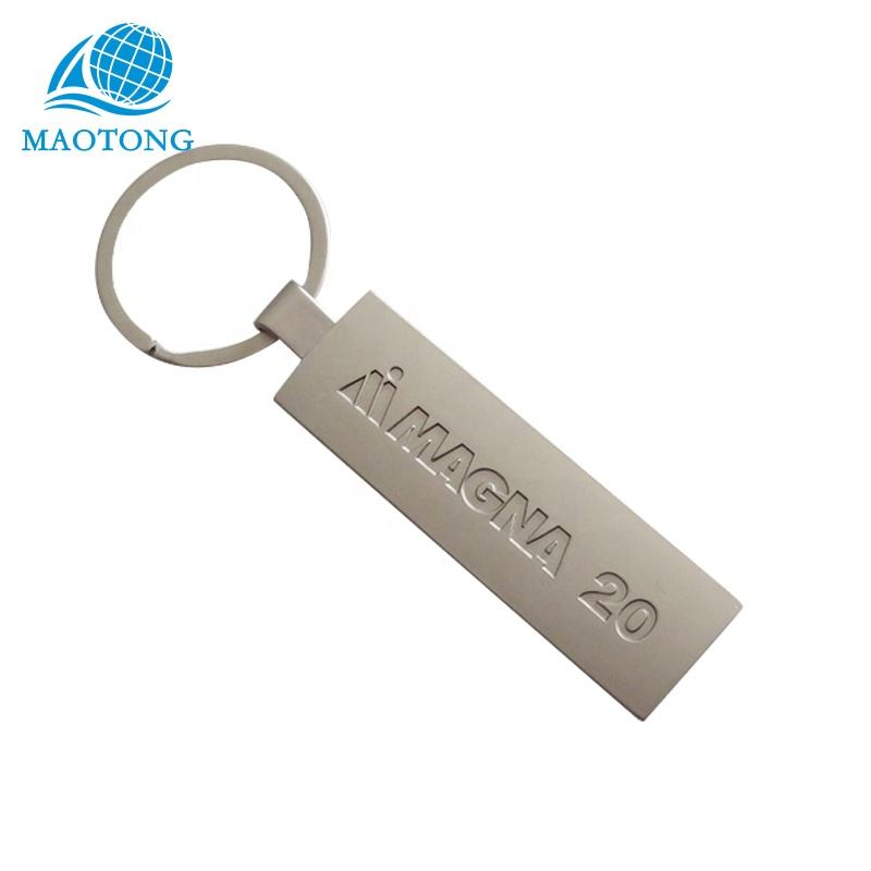 Promotional cheap custom blank logo metal plain antique gold silver nickle plated keychain of personalized custom metal name key
