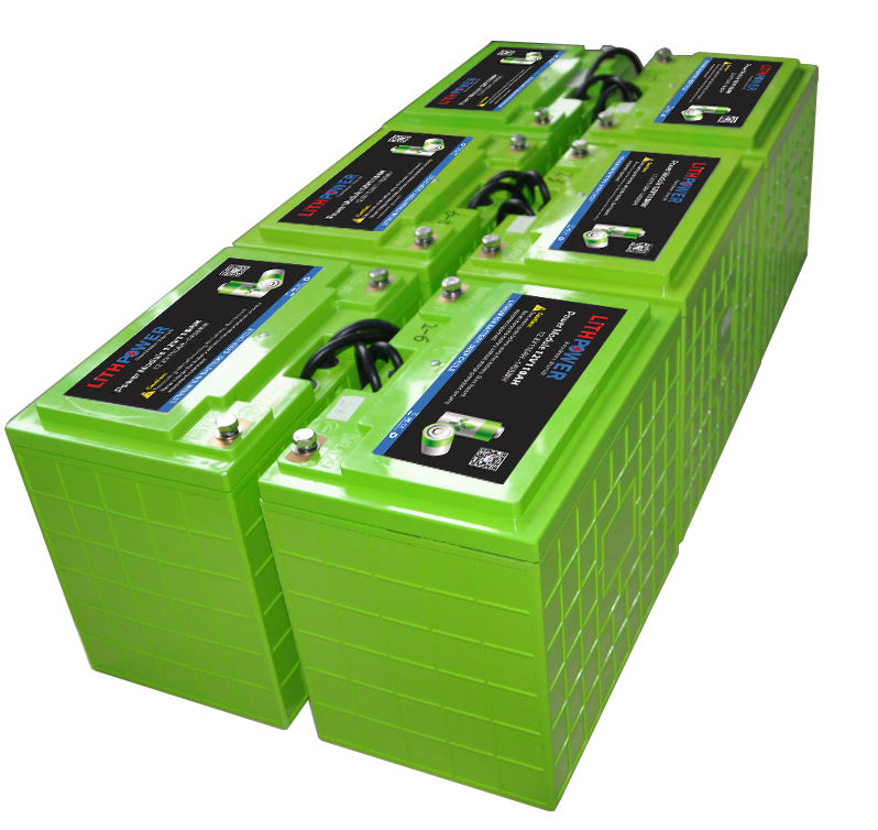 12 v 200ah lifepo4/lithium ion/li pack Solar batterij bank