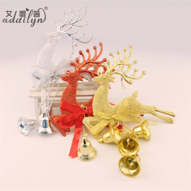 Hot Selling creativiteit versieren clear glass bell kerst ornament