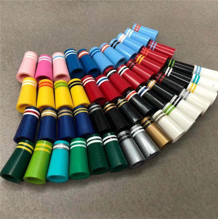 Colored Golf Iron Driver Ferrule with 3 Rings 0.335/0.350/0.355/0.370