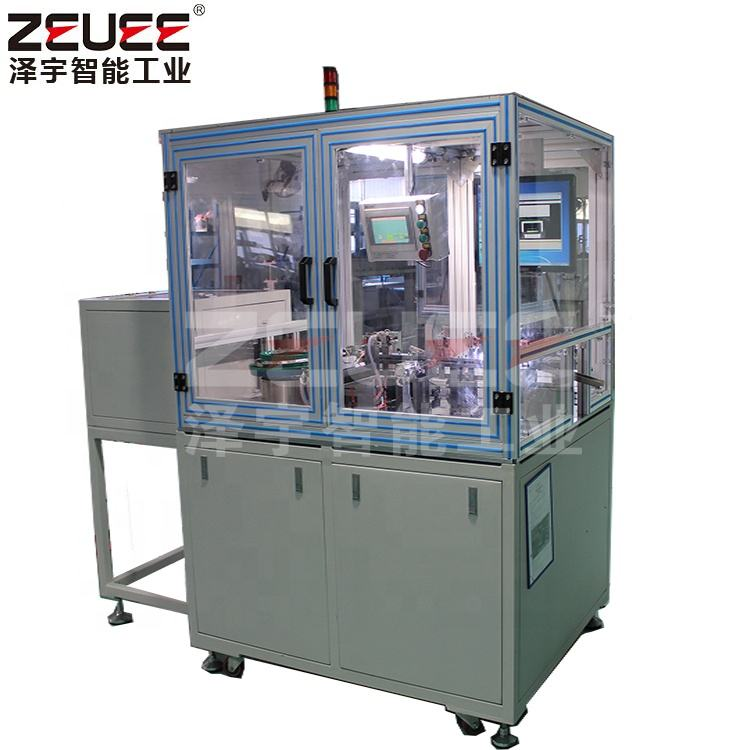custom plastic components electric connector terminal automatic assembly machine