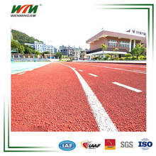 Synthetic PU Athletic Running Track/Runway For Sports Field