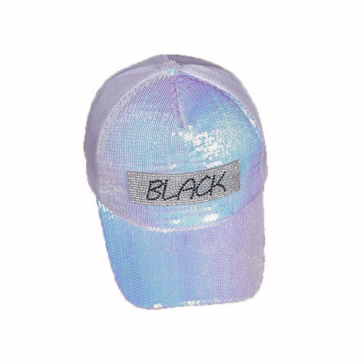 Moda verão selvagem viseira lantejoulas strass cap maré feminino cap malha boné de beisebol respirável