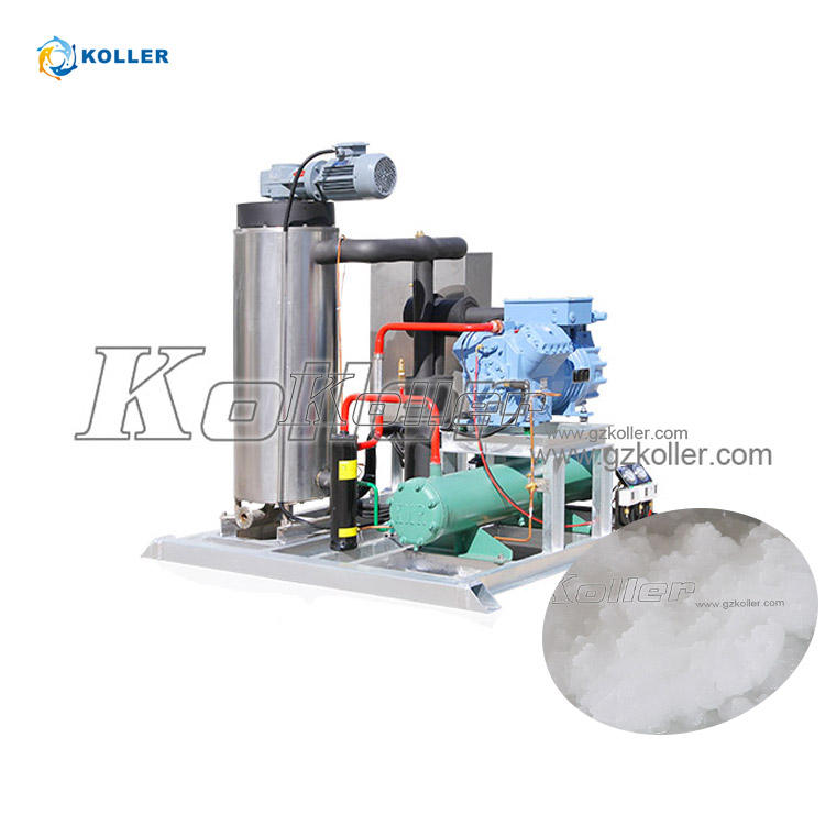 Koller SF100 10 t quick freeze salt fresh water slurry ice making machine