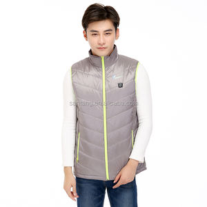 New Arrival Stylish Unisex Far-infrared Heated Vest with stand collar