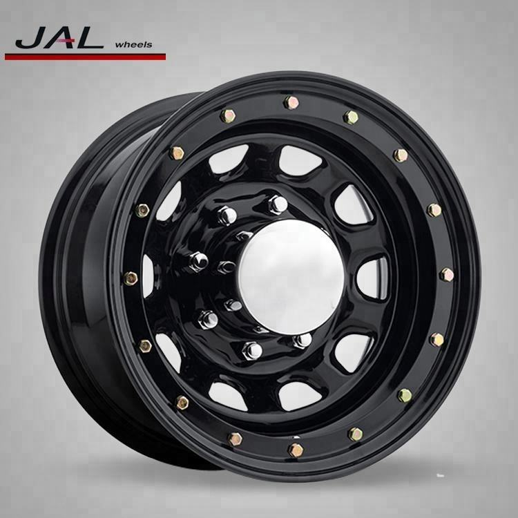 Strict Balancing Control Best Quality 17x10 inch 8/168.1Steel Beadlock Black Rims For Cars