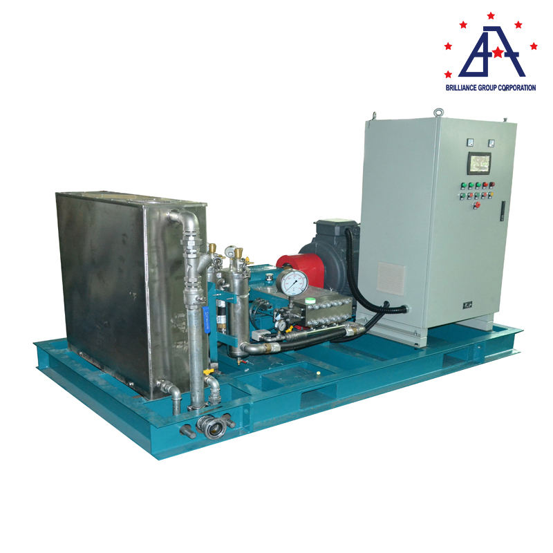 Industrial cleaning Equipment 8000-40000psi High Pressure Water Blasting Machine For Aviation Use