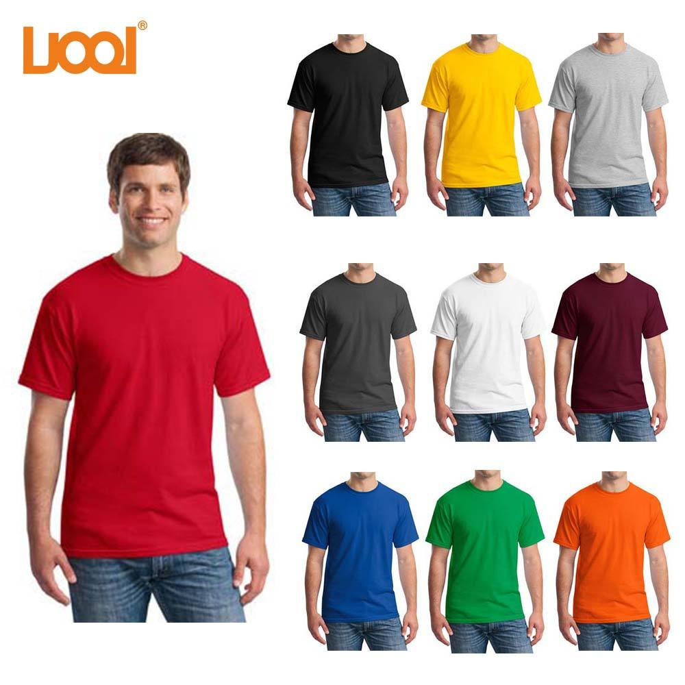 Hot-Selling Vlakte Multicolor 1 Dollar T-shirts, Groothandel Blank Promotie T-shirt