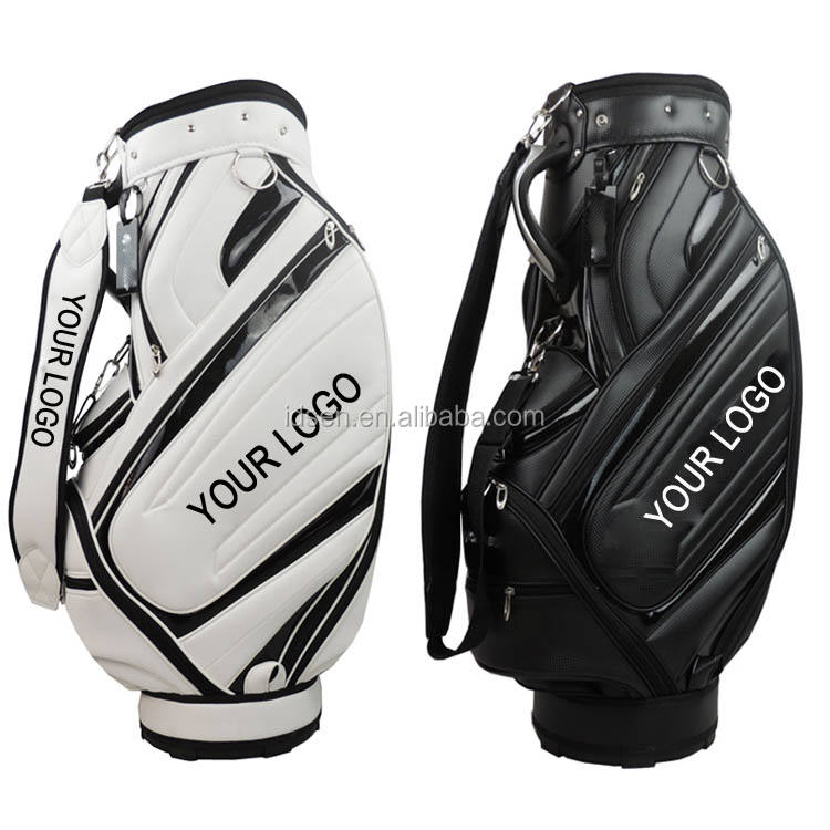 wholesale customer LOGO Hot sale golf bag and Stand golf bag Waterproof Custom Tour Golf Staff PU Bag