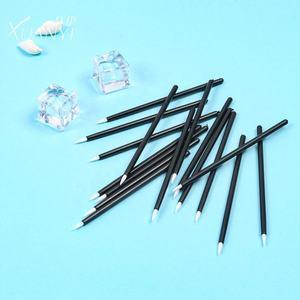 factory direct sales white and fiber disposable eyeliner brush lip liner brush Eyeliner Wand Applicator