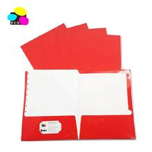 100pcs/PDQ A4 Size Pocket Custom Printed High Quality Custom Presentation Folders