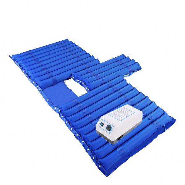Blue Color Medical Air Mattress With Pump For Hospital Bed