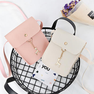 9F081 summer phone wallet China fashion high quality pu leather hand bag coin small mini crossbody shoulder bag