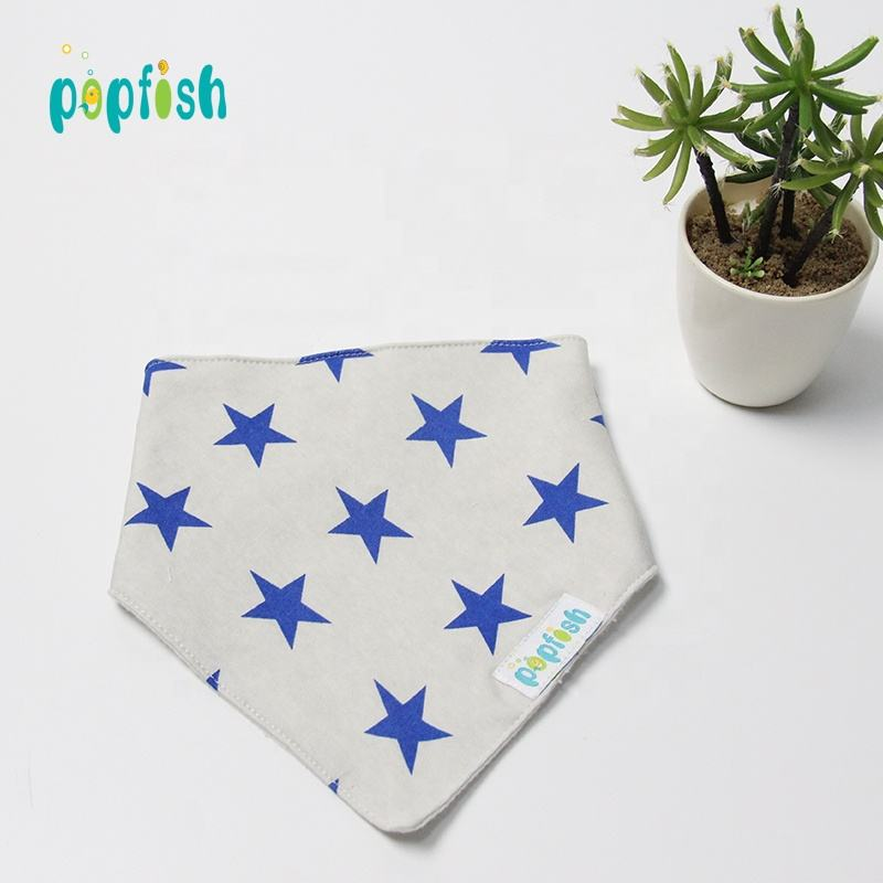 Waterproof 2021 New Arrival white baby bibs cotton