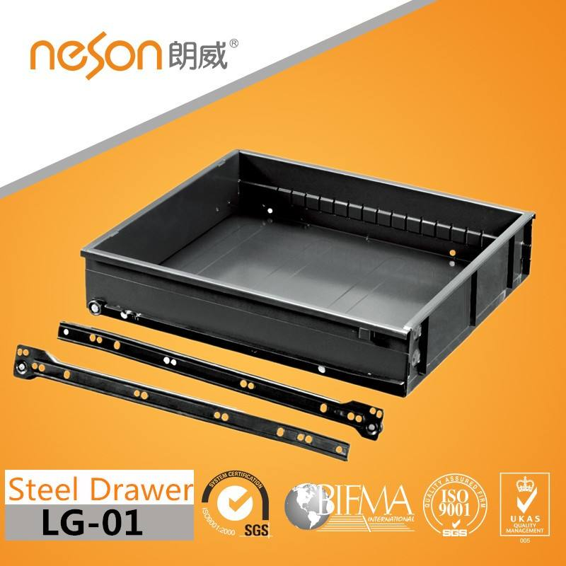 Office Steel Drawer with powder coating slide LG-01