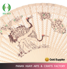 Spanish wooden hand fan