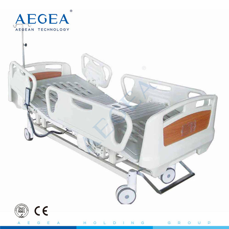 AG-BM102A electric 3 functions motorised emergency room medical beds for hospital