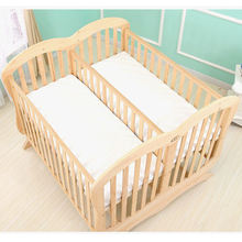 Sgs Certificatedouble Twin Baby Bed/ And Quick And Easy Assembling Feature Baby Crib Modern