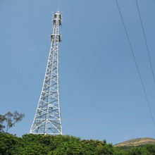 Hot Dip Galvanised Angle Steel Telecommunication Tower