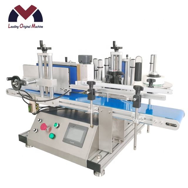 HOT Cheap tabletop labeling machine desktop manual labeling machine for big jar glass bottle
