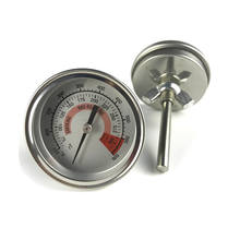 Custom length analog bi metal thermometer bbq manufacturers