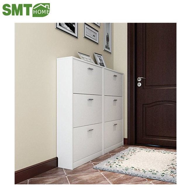 popular PB shoe cabinet storage 6 doors home hall design