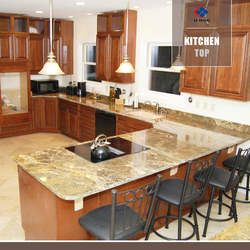 Golden King Granite Kitchen counter Top