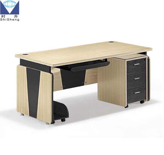 ISO9001/ISO14001color-assorted panel office executive desk