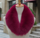 Fox Fur Collar Collar Fur Collar Fox Fur Hat Collar Down Jacket Hat Accessories Long Fur Collar Customized