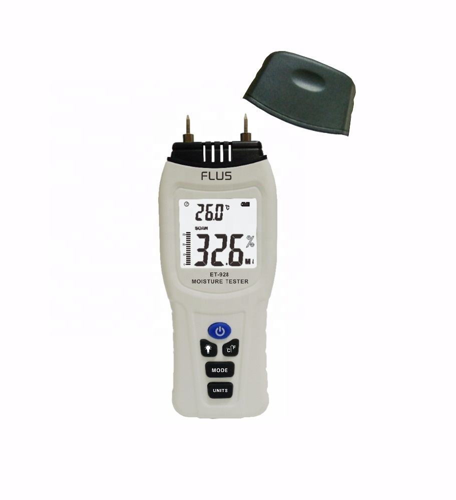 Digital Temperature Tester Moisture Meter For Food Or Building Material