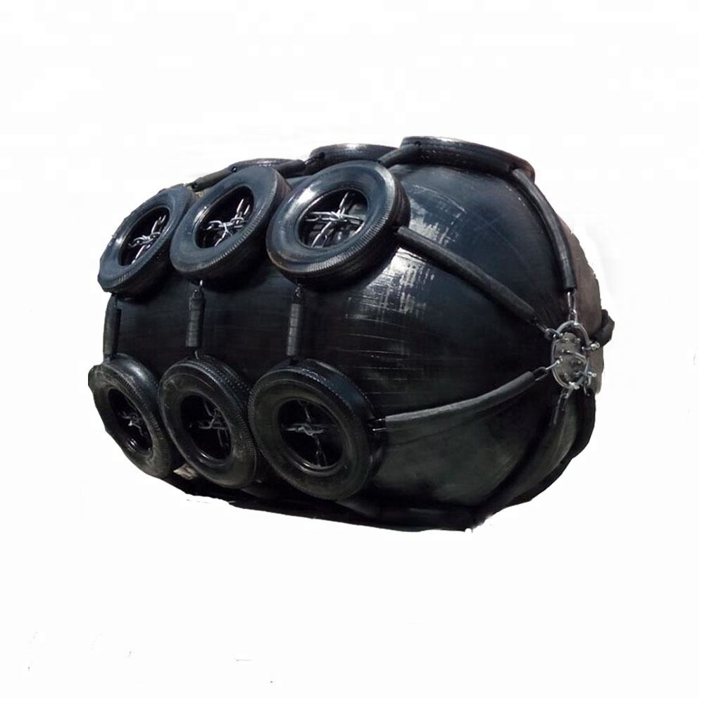 inflatable floating marine boat pneumatic type rubber fender for ship and floating docks