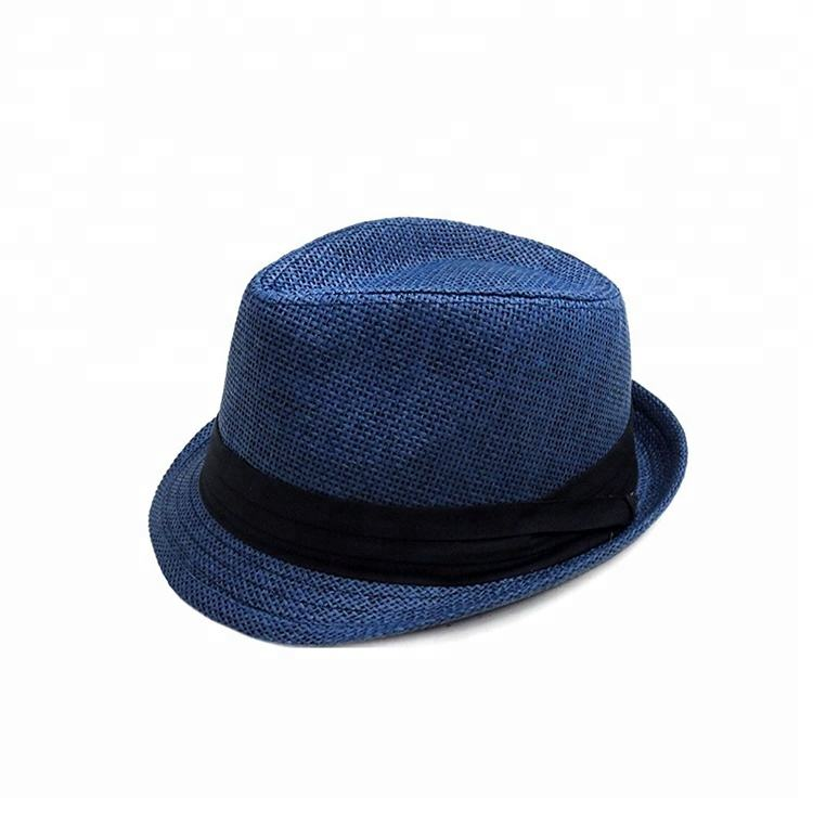 Natural Straw Wholesale Trendy Lovely Hat Fedora